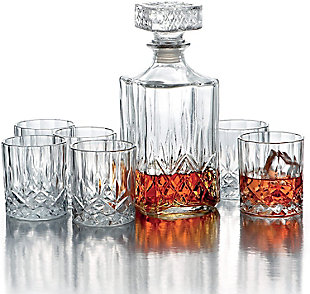 Elle Décor Kentucky 7-Piece Whiskey Set, , large