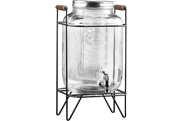 Elle Décor Style Setter Beck Dispenser with Infuser, , large