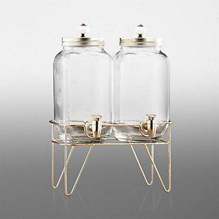 Elle Décor Style Setter Julian Set/2 Bev Dispensers, , large