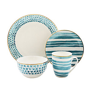 Elle Décor Cherie 16-Piece Dinnerware Set, , rollover