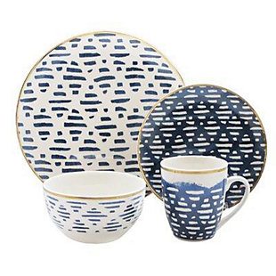 Elle Décor Lucette 16-Piece Dinnerware Set, , large