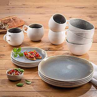 Elle Décor Fiora 16-Piece Dinnerware Set, , rollover