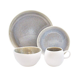 Elle Décor Fiora 16-Piece Dinnerware Set, , large
