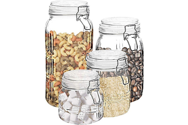 Elle Décor Style Setter Portland Square Set of 4 Canisters, , large