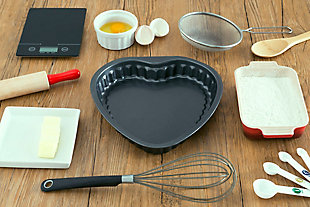 Home Accents Heart-Shaped Cake Pan, , rollover