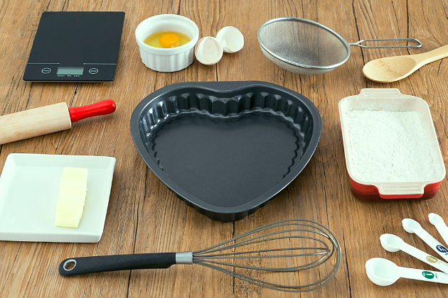 Home Accents Heart-Shaped Cake Pan, , large