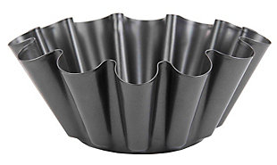 Home Accents Steel Fluted Brioche Pan, , large