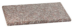 "Home Accents 8"" x 12"" Granite Cutting Board, Brown, , large"
