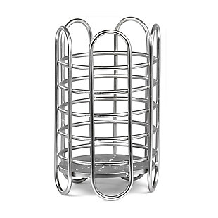 Home Accents Simplicity Collection Free-Standing Utensil and Cutlery Holder with Quick Draining Holes, , large