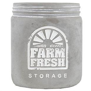 Home Accents Farm Fresh Storage Ceramic Utensil Crock, , large