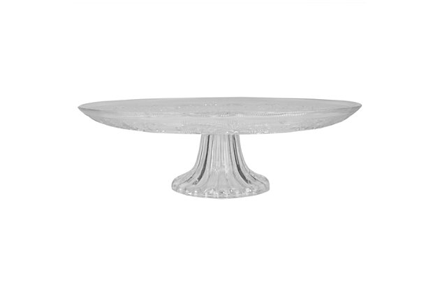 Home Accents Cake Plate, , large