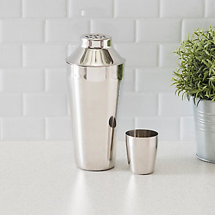Home Accents Stainless Steel Cocktail Shaker, , rollover