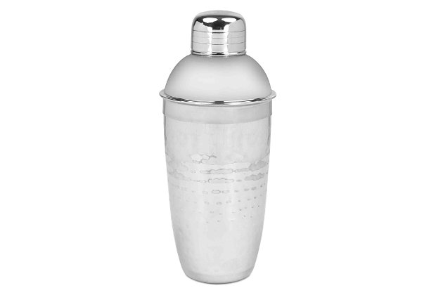 Home Accents Hammered Cocktail Shaker, , large