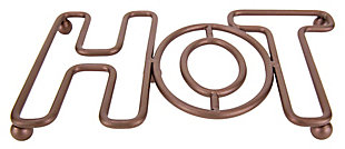Home Accents Amsterdam Collection Hot Trivet, Bronze, , large