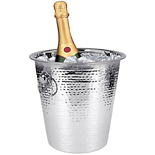 Home Accents Hammered Ice Bucket, , rollover