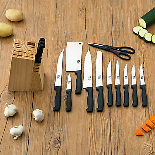 Home Accents 15 Piece Knife Set with Block, , large
