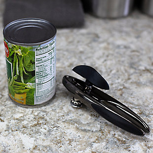 Home Accents Nova Collection Zinc Can Opener, Black Onyx, , large