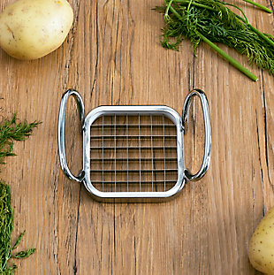 Home Accents Stainless Steel French Fry Cutter, , rollover