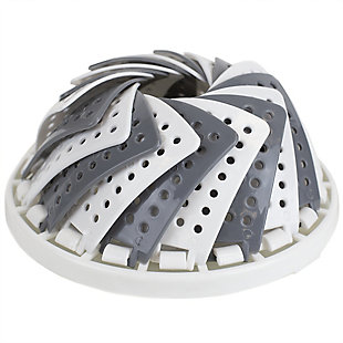 Home Accents Grey Plastic Vegetable Steamer, , large