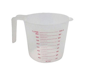 Home Accents 1 Liter Plastic Measuring Cup, , large