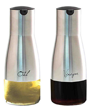 Home Accents 8.5 oz. Oil and Vinegar Set, , large