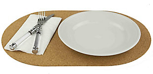 Home Accents Cork 4 Piece Placemat, , rollover
