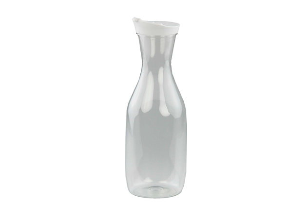Home Accents 58 oz.  Classic Drip-Proof Plastic Beverage Pitcher, Clear, , large