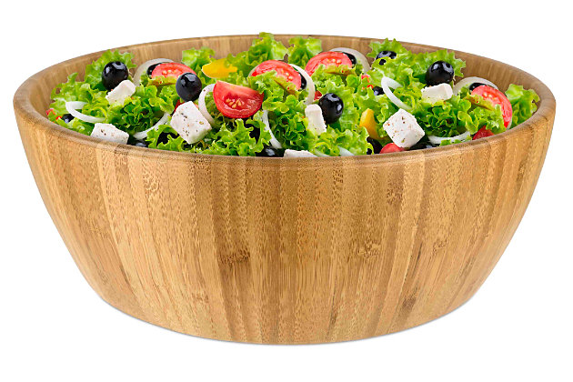 Home Accents Round Salad Bowl, , large
