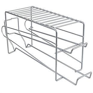 Home Basics Vinyl Coated Steel Can Dispenser, Silver, , large