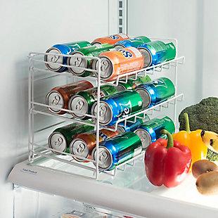 Home Basics 3-Tier Can Organizer, , rollover
