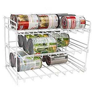 Home Basics 3-Tier Can Organizer, , large