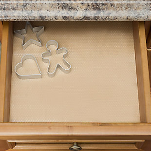 Home Basics Shelf Grip Liner Dots, , rollover
