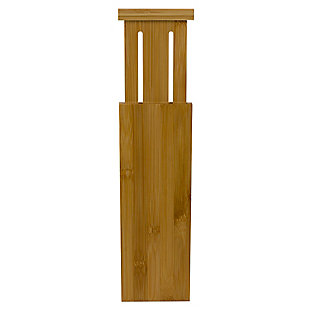 """Home Basics 12.5"""" x 4""""  Bamboo Drawer Partition, Natural, , large"""