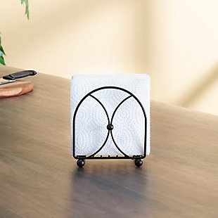 Home Basics Arbor Collection Napkin Holder, Oil Rubbed Bronze, , rollover