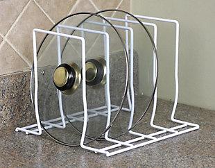 Home Basics Lid Rack, , large