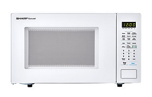 Sharp Carousel 1.4-Cu. Ft. 1000W Countertop Microwave Oven in White, , large