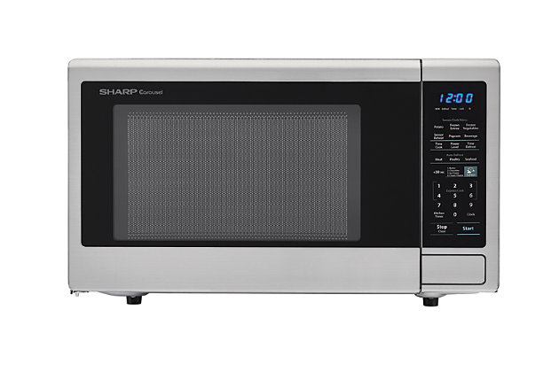 Sharp 1.4-Cu. Ft. 1000W Countertop Microwave Oven, , large
