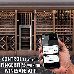 Caso Design 24-Bottle Dual-Zone Wine Cellar, , rollover