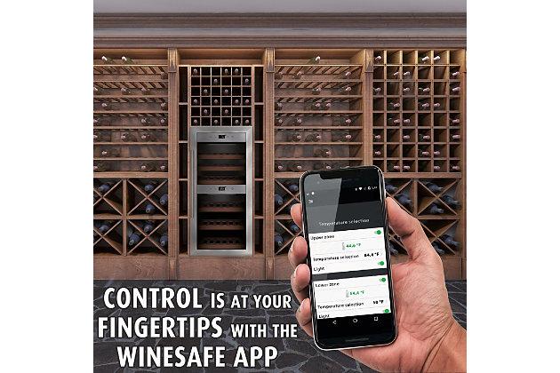 Caso Design 24-Bottle Dual-Zone Wine Cellar, , large
