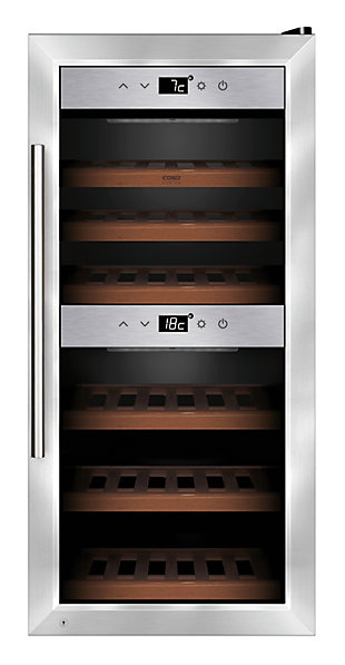 Caso Design 24-Bottle Dual-Zone Wine Cellar, , large