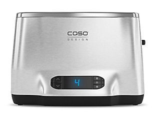 Caso Design Inox 2 Two-Slice Toaster with Wire Warming Basket Attachment, , rollover