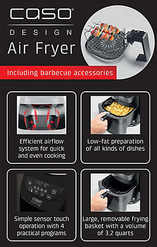 Caso Design Fat-Free Convection Air Fryer, , large