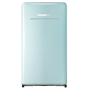 Kenmore 4.4-Cu. Ft. Retro 1-Door Compact Refrigerator, Green, large