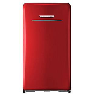 Kenmore 4.4-Cu. Ft. Retro 1-Door Compact Refrigerator, Red, , large