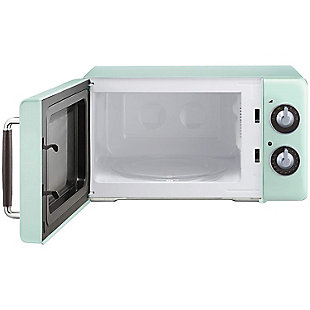 MAGIC CHEF .7 Cubic-ft 700-Watt Retro Microwave (Mint Green), , rollover