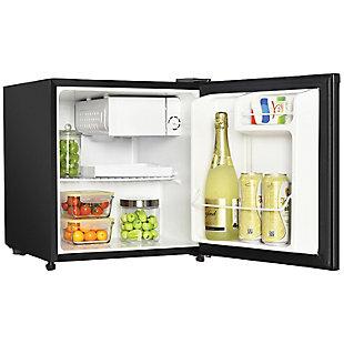 MAGIC CHEF 1.7 Cubic-ft Manual Defrost Refrigerator (Black), , rollover