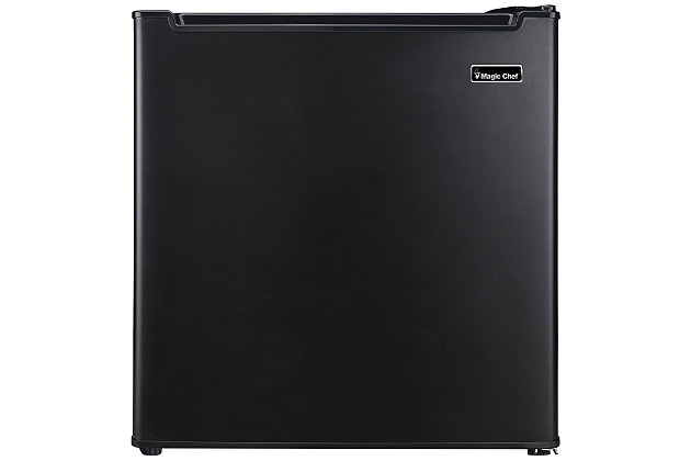 MAGIC CHEF 1.7 Cubic-ft Manual Defrost Refrigerator (Black), , large