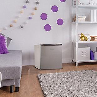 BLACK+DECKER 1.7 Cubic-ft Refrigerator/Freezer (VCM), , rollover