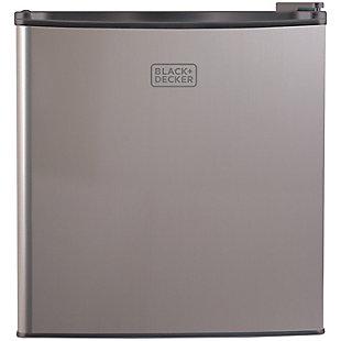 BLACK+DECKER 1.7 Cubic-ft Refrigerator/Freezer (VCM), , large