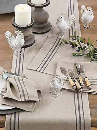 Saro Lifestyle Everyday Linen Placemat (Set of 4), , rollover